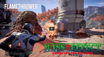 Mass Effect Andromeda - обзор и настройка способностей