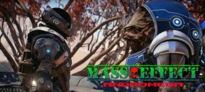 Mass Effect Andromeda Исследование