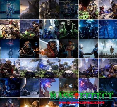 Скачать скриншоты для Mass Effect Andromeda в HD качестве