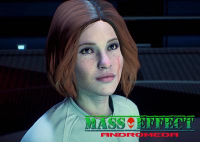 """Пресет персонажа """"Сара Райдер"""" для Mass Effect: Andromeda"""